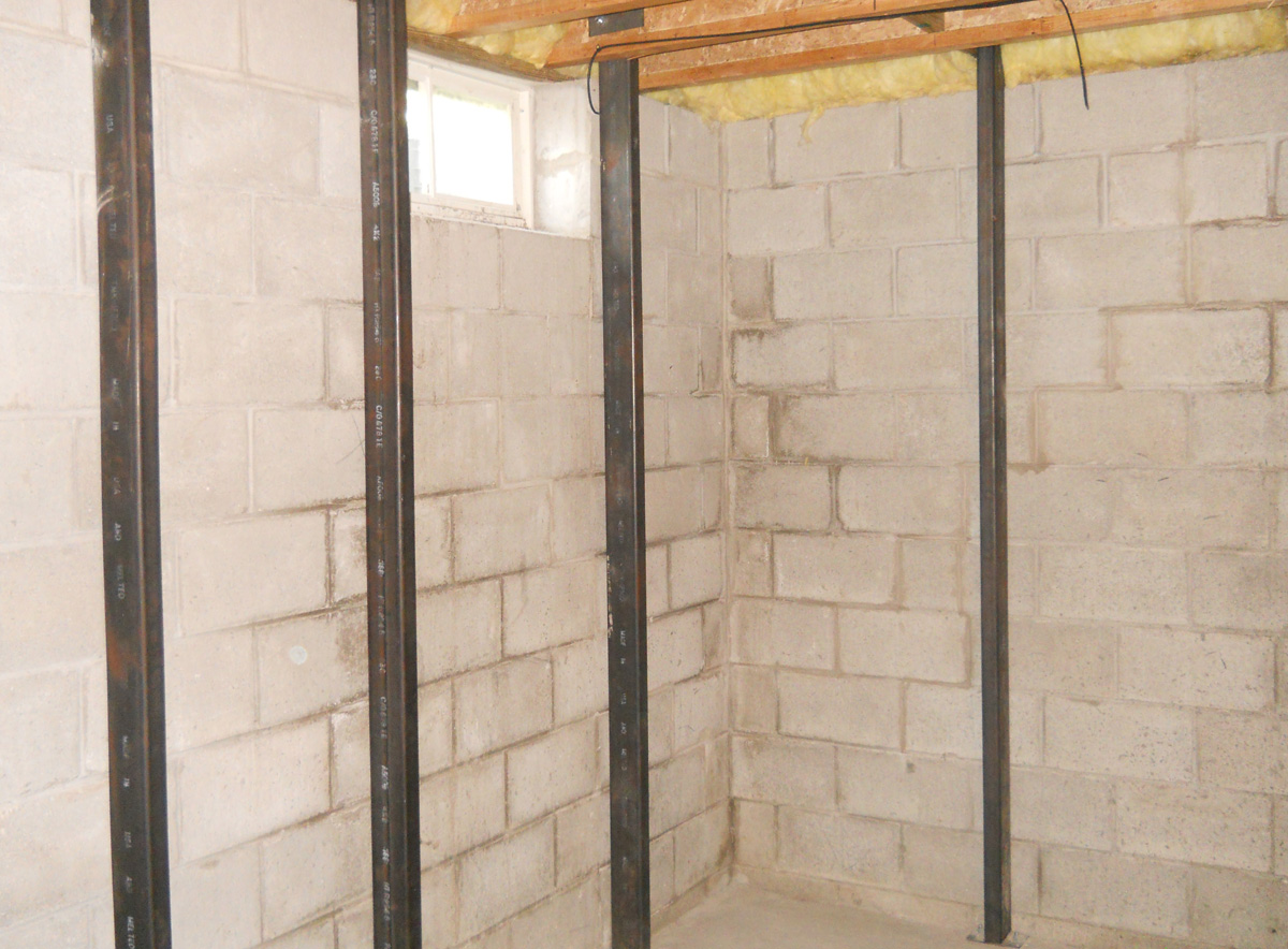 Basement foundation repair creekside contractors for Basement foundation cost estimator